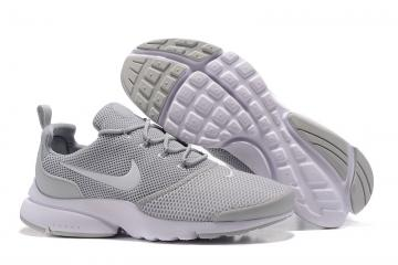 529ad19e0f871 Nike Air Presto Fly Uncage gray white men Running Walking Shoes 908019-206
