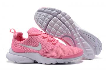 info for 846d4 2f183 Nike Air Presto Fly Uncage pink white women Running Walking Shoes 908019-210