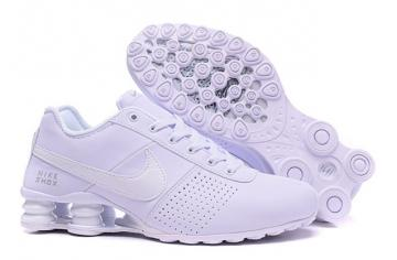 wholesale dealer 07c25 4c883 Nike Shox Deliver Men ShoesPure White Silver Casual Trainers Sneakers 317547