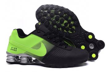 the best attitude 93596 1f78f Nike Shox Deliver Men Shoes Fade Black Flu Green Casual Trainers Sneakers  317547