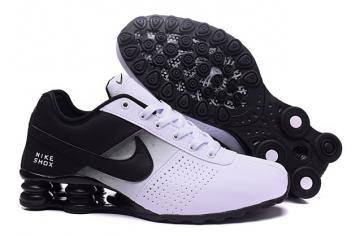 finest selection c000c 362a9 Nike Shox Deliver Men Shoes Fade White Black Casual Trainers Sneakers 317547