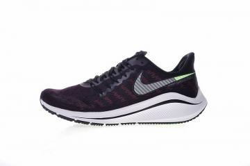 b694547b1ff1 Nike Air Zoom Vomero 14 Marathon Cushioning Sport Running Shoes Black Grey  Red Volt AH7857-602