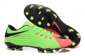 a89f5aa020a Nike Hypervenom Phantom III low help green football shoes 852567-308