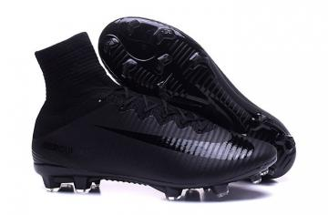 84db5fb3000 Nike Mercurial Superfly V FG ACC Men Football Shoes Soccers All Black
