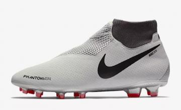 64e2b430841 Nike Phantom Vision Pro Dynamic Fit FG Pure Platinum Light Crimson Dark  Grey Black AO3266-060