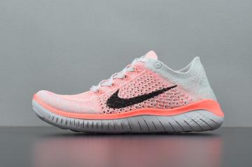 07ec058562f4 Nike Free Rn Flyknit 2018 Pink Womens Running Shoes 942839-800