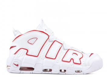 official photos cfad7 72ee7 Nike Air More Uptempo Basketball Unisex Shoes Varsityred White 921948-102