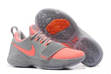 Nike Zoom PG 1 EP Paul Jeorge gray pink Men Basketball Shoes 878628-006 77e2bd92b
