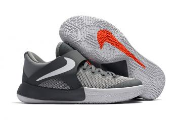 09a596b99a9c Nike Zoom Live EP 2017 Grey White Men Basketball Shoes 852420-010