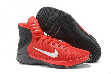 best sneakers 5c3a6 e7d3e Nike Prime Hype DF 2016 EP Red Black White Mens Basketball Shoes 844788