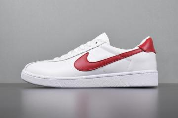 89f678f1e6 Nike Bruin QS White Red Classic Shoes 826670-160