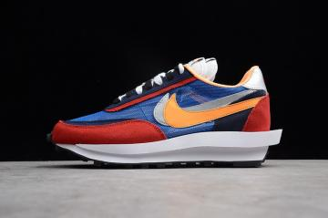 94e6936cd5ca1 Nike UNDERCOVER X Waffle Racer Red Blue Gold Silver 884691-404