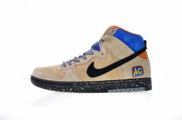 2e7c558036a89 Acapulco Gold x Nike SB Dunk High Mowabb Grain Black 313171-207