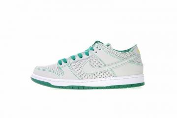 d133529ab9b Nike SB Zoom Dunk Low Pro Decon Qs Ishod Wair White Verde Aloe AR1399-113