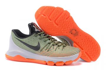 40e7744603b Nike KD 8 VIII Easy Euro Lunar Grey Alligator Bright Citrus Men Basketball  Shoes 749375-033
