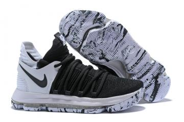 competitive price f2fd8 c1d5e Nike Zoom KD X 10 Men Basketball Shoes White Black Special New