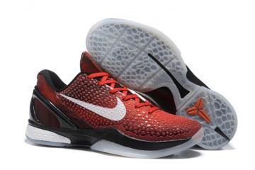 e227e645c2b8 Nike Zoom Kobe VI All Star Challenge Red White Black Men Basketball Shoes  448693-600