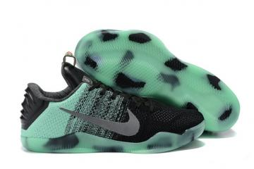 huge discount 6c25c e1e57 Nike Kobe 11 Elite Low All Star Green Glow Men Shoes Flyknit 822521 305