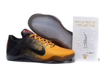 275ceb039fe Nike Kobe XI 11 Elite Low Bruce Lee 822675 706 MEN Warrior Spirit 822675 706