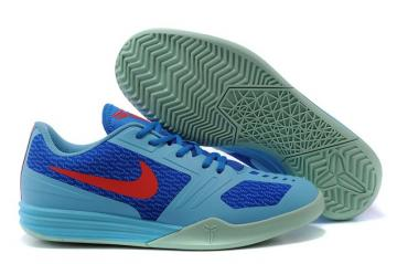 hot sale online 5b404 7d13f Nike Kobe KB Mentality Basketball Shoes Sky Blue Red 704942 400