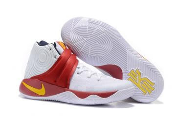 975d3b77a1e1 Nike Kyrie 2 II EP Effect Men Shoes White Red Orange 838639