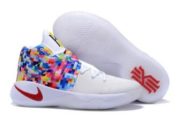 ef087549446 Nike Kyrie 2 II EP Effect Men Shoes White Red White Multi Color 820537