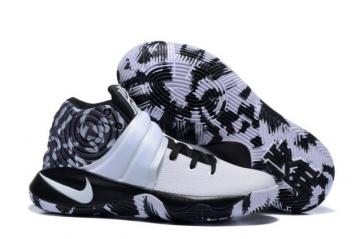 new arrival 8adf8 6e58a Nike Kyrie 2 II EP White Camo Black White Men basketball Shoes 819583 202