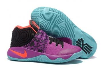 low priced 0bbb3 62a79 Nike Kyrie 2 II Easter EP Ivring Purple Black Orange Green Basketball Shoes  828375 066