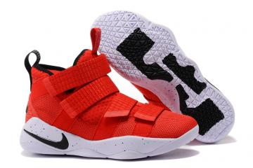 07b7009c914 Nike Zoom LeBron Soldier XI 11 Men Basketball Shoes Bright Red White Yellow  897645