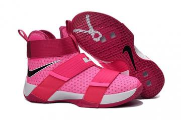 best service a0228 ff9c5 Nike Lebron Soldier 10 EP X James Kay Yow Breast Cancer Basketball Shoes  844375-606