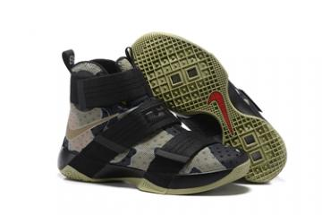 cbb32d4e16b8 Nike Lebron Soldier 10 EP X Men Camo Basketball Shoes Men 844378-022