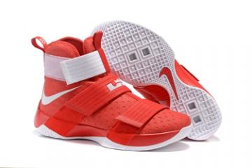 d4f11142fbe Nike Lebron Soldier 10 EP X Men Championship Red White Basketball Shoes Men  885682-991