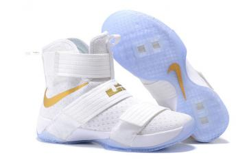 0ddb9a4791d Nike Lebron Soldier 10 SFG EP X James Strive for Greatness White Gold  844379-101