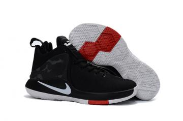 9916027666518 Nike Zoom Witness EP Lebron James Black Red Men Basketball Shoes 884277-002