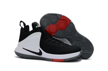 6f604f3bcdf Nike Zoom Witness EP Lebron James Black Red White Men Basketball Shoes  884277-003