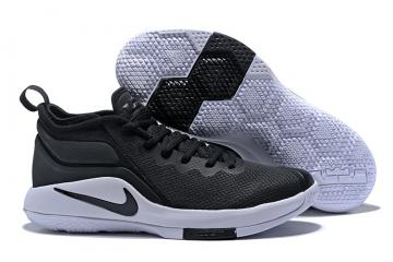 9c902eefccc3 Nike Zoom Witness II 2 Men Basketball Shoes Black White P942518-001
