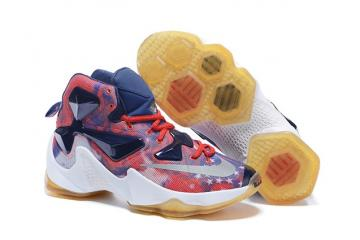 a25d090a790b Nike Lebron XIII EP 13 James Independence Day Men Basketball Shoes 807220