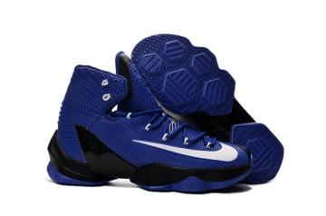 differently c4526 88833 Nike Lebron XIII Elite EP 13 James Blue Black White Men Basketball Shoes  831924