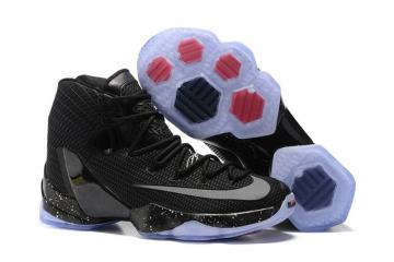 hot sale online d5844 0422c Nike Lebron XIII Elite Ready To Battle 13 men basketball shoes black silver  831924 001