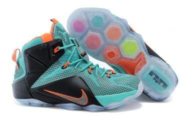 e1c4680a6a0 Nike Zoom Lebron XII 12 Men Basketball Shoes Green Orange Silver · 147.49  USD. 101.99 USD. Save 31%. QUICK VIEW