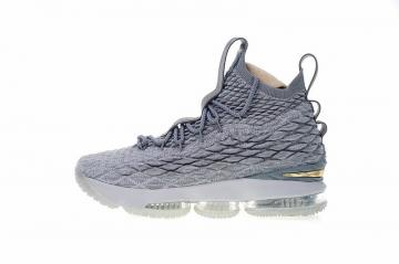 7e3413d293f Nike LeBron 15 City Edition Wolf Grey Metal Gold 897649-005