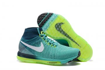 df449c6118fd Nike Zoom All Out Flyknit Spring Green Men Running Shoes Sneakers Trainers  844134-313