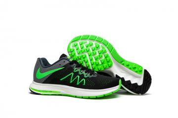 6b4f057827e8 Nike Zoom Winflo 3 Light Green Black Men Running Shoes Sneakers Trainers  831561