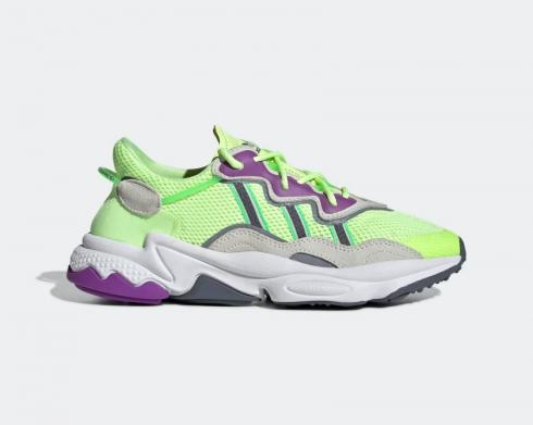 Adidas Wmns Originals Ozweego Hi-Res Yellow Orchid Tint Shock Lime EE5720