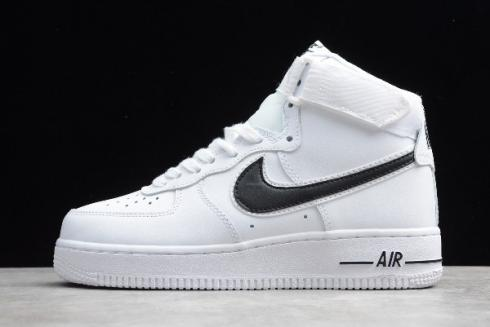 2019 Nike Air Force 1 High 07 3 White Black AT4141 108
