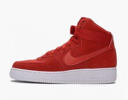 Nike Air Force 1 High 07 Gym Red Suede
