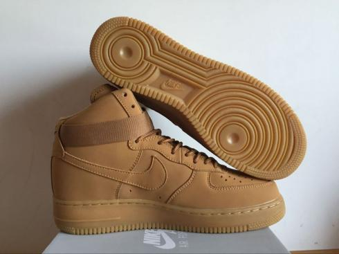 Nike Air Force 1 High 07 Lv8 Flax Outdoor Green Flax 806403 200