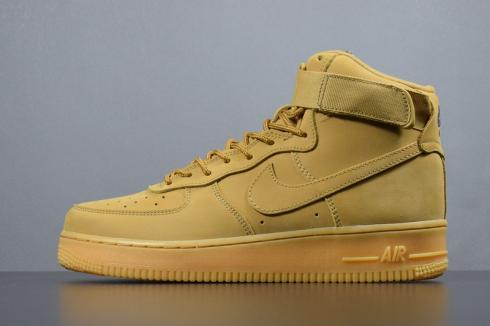 online store 3c6a0 8d79d Nike Air Force 1 High WB Wheat Flax Basketball Shoes 882096-200