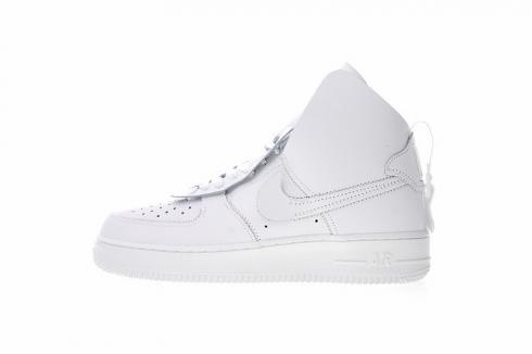 PSNY x Nike Air Force 1 High White Casual Sneakers AO9292 100