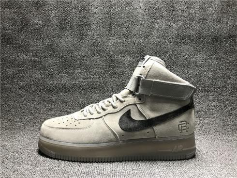 Reigning Champ x Nike Air Force 1 High 07 Grey Black 882098 100